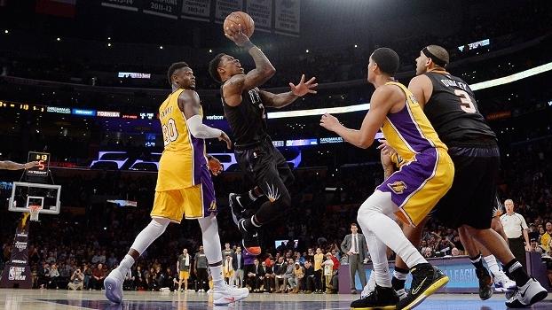 Veja lances da vitória dos Suns sobre os Lakers por 119  a 115