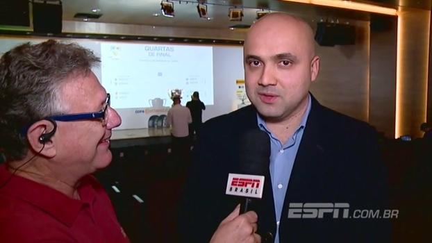 Diretor de competições da CBF explica como funcionará confrontos da Copa do Brasil