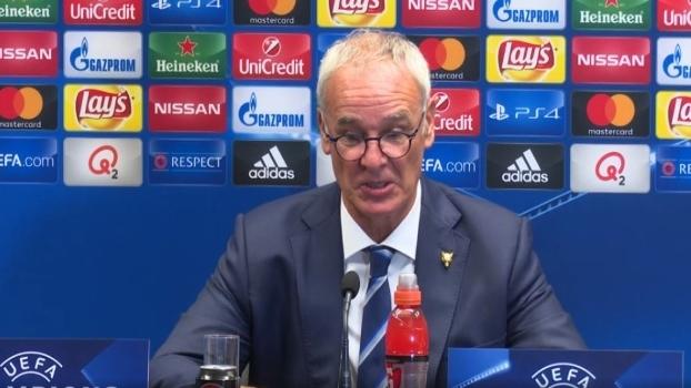 Apesar de boa estreia do Leicester, Ranieri diz que time não pode pensar em vencer a Champions