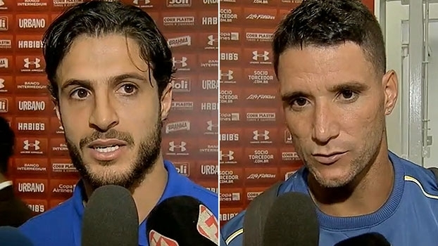 Hudson comemora 'reconhecimento' no Cruzeiro; Thiago Neves destaca planejamento
