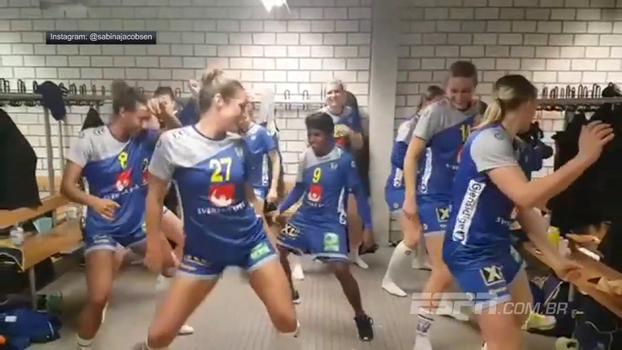 Suecas comemoram classificação no Mundial de handebol com dança de zumba ensaiada; assista