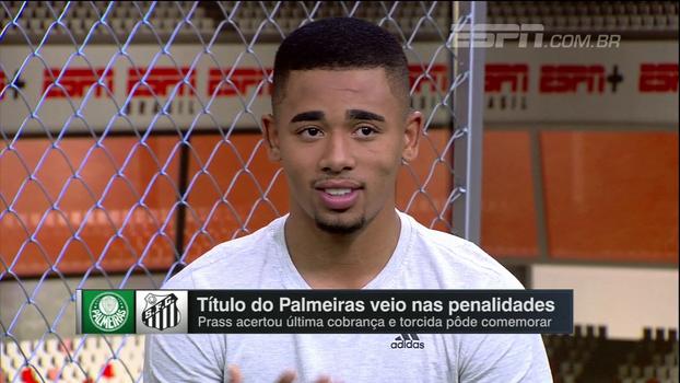 Gabriel Jesus: 'O Palmeiras está sempre na minha vida. Um dia eu voltarei'