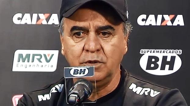 Em apresentação no Atlético-MG, Marcelo Oliveira diz: 'Futebol é um eterno desafio'