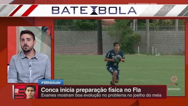 Para Nicola, Conca melhora um time já forte: 'Vai fazer o Flamengo dar um salto'