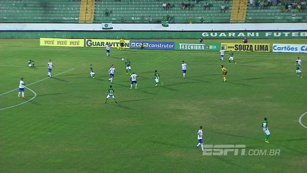 Assista aos gols da vitória do Paraná sobre o Guarani por 4 a 0!