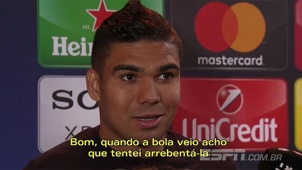 Casemiro comemora golaço, Zidane elogia Napoli, e Albiol ainda acredita: veja repercussão de jogadores e técnicos