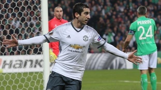Europa League: Gol de Saint-Étienne 0 x 1 Manchester United (agregado: 0 x 4)