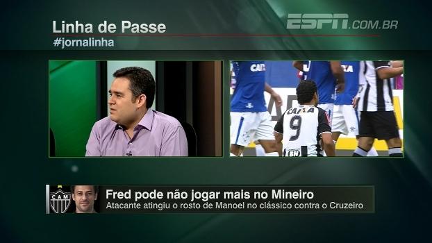 Bertozzi analisa possibilidade de Fred perder o resto do Mineiro: 'Não é mais garoto...'