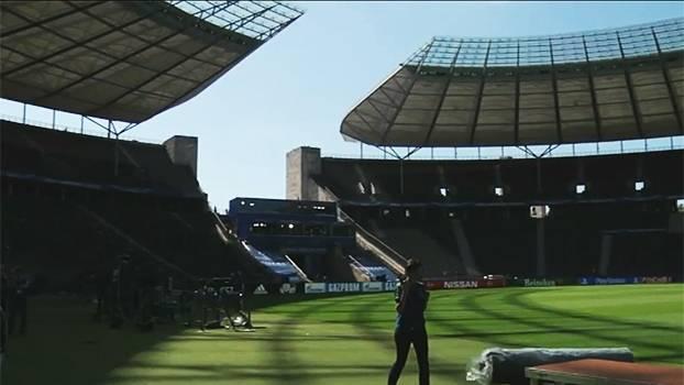 Estádio da final de Champions preserva parte da estrutura que abrigou Jogos Olímpicos de 1936