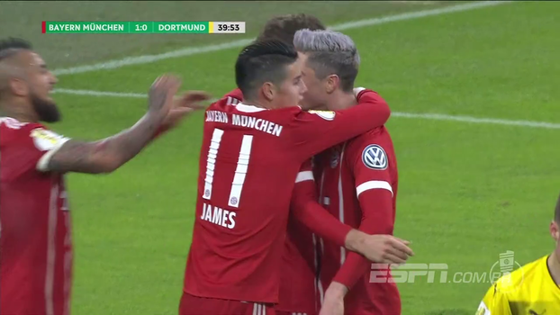 Com golaço de Muller, Bayern elimina Dortmund na Copa da Alemanha