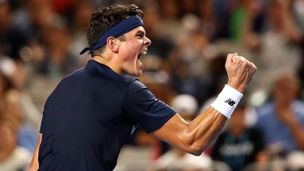 Raonic supera francês e enfrenta Bautista nas oitavas do Australian Open