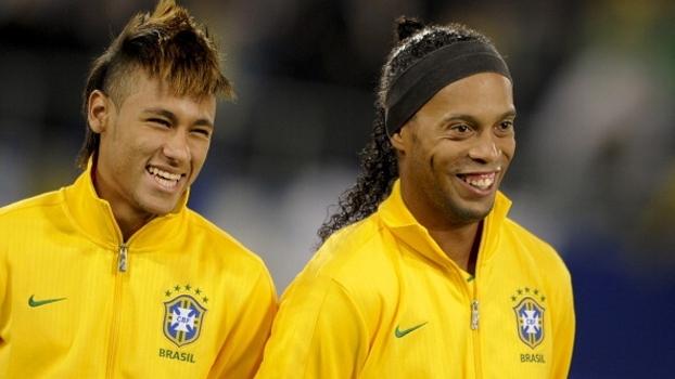 Neymar já atingiu o nível de Ronaldinho na seleção e no Barça? Veja opiniões