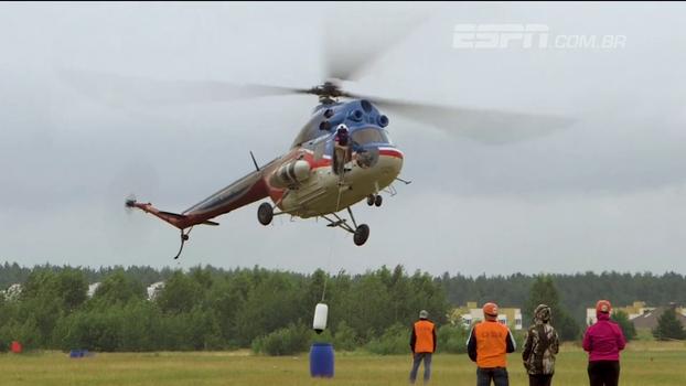 Cidade em Belarus recebe a 1ª edição da Copa do Mundo de helicópteros