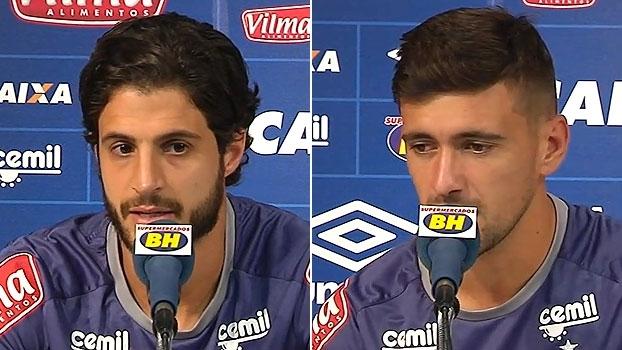 Hudson e Arrascaeta projetam 'força máxima' do Cruzeiro contra Chapecoense