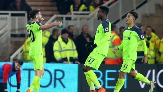 Premier League: Gols de Middlesbrough 0 x 3 Liverpool