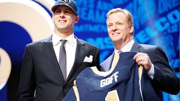 Draft NFL 2016: Rams selecionam Jared Goff no 1ª pick