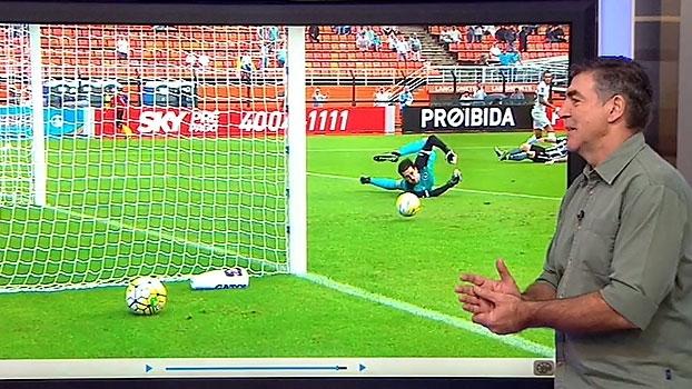 Zetti analisa e aponta falha de Helton Leite em gol do Santos: 'Bola defensável'