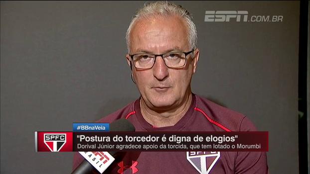Dorival faz análise sobre a posse de bola do São Paulo e traça objetivo: apresentar um futebol mais consistente