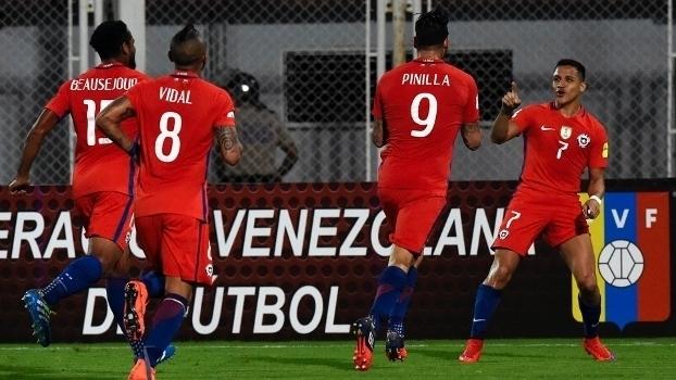 Resultado de imagem para Chile x Paraguai
