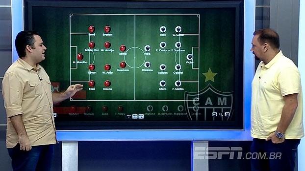 Opções e desfalques: Dupla BB projeta escalações para Flamengo x Atlético-MG