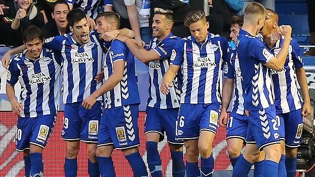 Com gol de brasileiro, Alavés vence a Real Sociedad