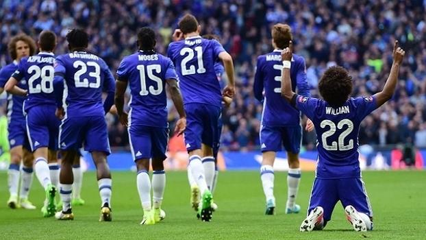 Copa da Inglaterra - semifinal: Gols de Chelsea 4 x 2 Tottenham