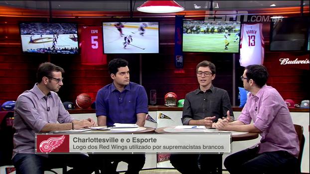 Comentaristas do ESPN League falam sobre protestos em Charlottesville e o impacto no esporte americano