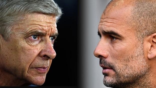 Wenger garante Arsenal focado e muito motivado; Guardiola admite que City tem de melhorar