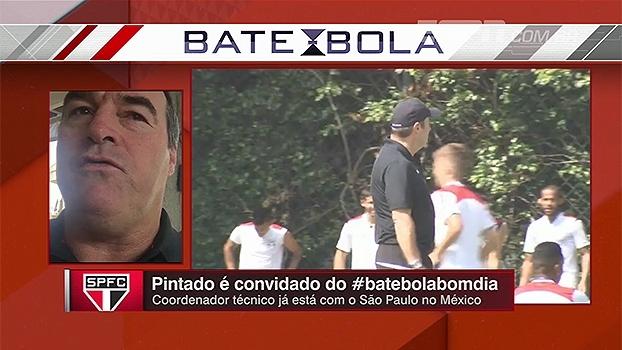 Pintado elogia competente Bauza: 'A gente se fechou para dar todo o suporte para ele'