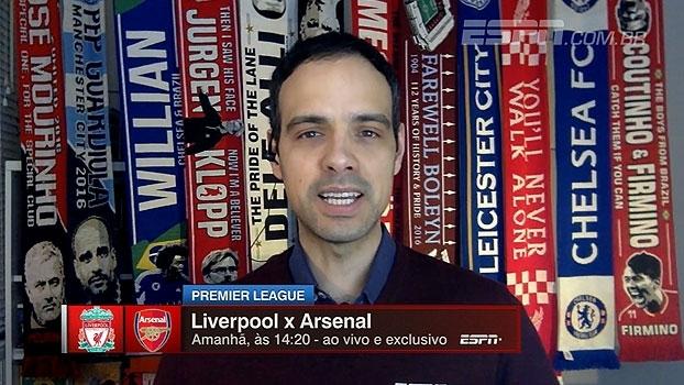 João Castelo Branco e Bertozzi analisam fase de 'defesas horríveis' de Liverpool e Arsenal