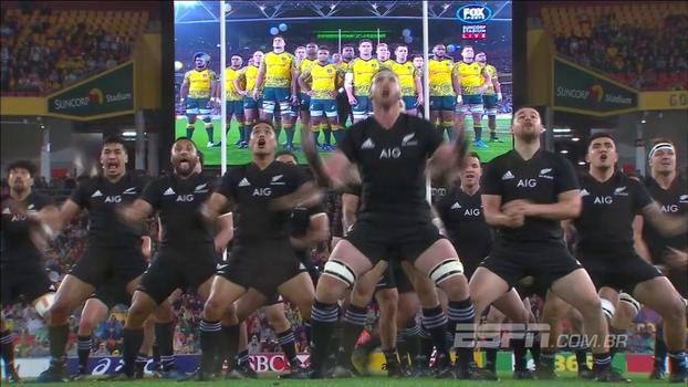 De aterrorizar adversários! Veja a 'Haka' dos All Blacks antes de enfrentar a Austrália
