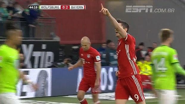 Tempo real: GOL do Bayern! Coman faz ótima jogada pela esquerda e Lewandowski faz o terceiro