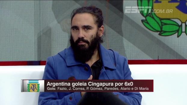 Linha defensiva de dois e identidade ofensiva; Sorín explica jogo da Argentina de Sampaoli