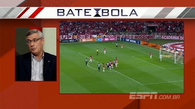 Cel. Marinho, sobre expulsão de Lucas Lima contra o Internacional: 'Falta de maturidade do árbitro'