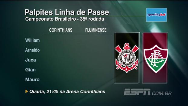 Confira os palpites do 'Linha de Passe' para a 35ª rodada do Campeonato Brasileiro