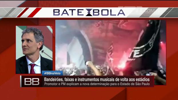 Bandeirões, faixas e instrumentos musicais vão voltar aos estádios de São Paulo