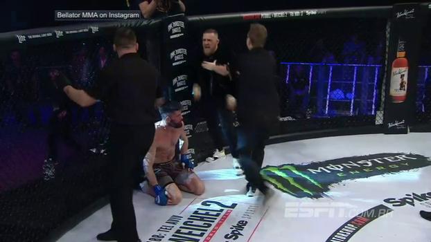 McGregor perde o controle, invade octógono do Bellator e quase 'sai na mão' com árbitro