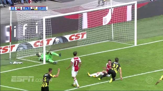 Campeonato Holandês: Gols de Ajax 1 x 2 Vitesse