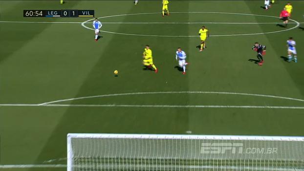 De virada e com gol de brasileiro, Leganés vence Villarreal