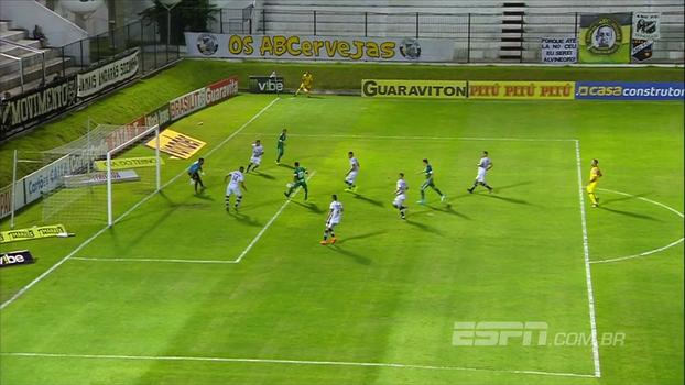 Assista ao gol da vitória do Goiás sobre o ABC por 1 a 0!