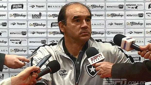 Ricardo Gomes analisa vitória do Botafogo e a posição do time na tabela