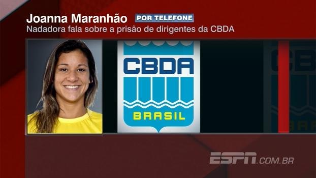 Joanna Maranhão, sobre operação contra desvio de recursos na CBDA: 'Choque e alívio'