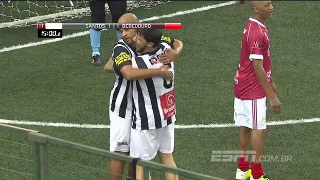 Showbol: Santos vence Inter de Bebedouro e fica com a 2ª vaga do grupo