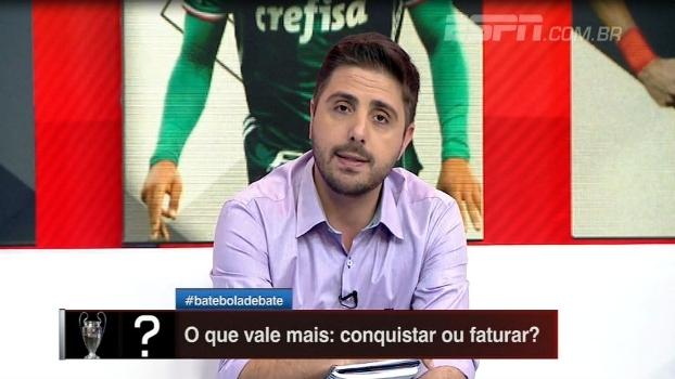 Nicola: 'Palmeiras lucra mais com Jesus do que Santos com Neymar'