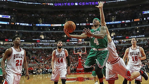 NBA: Lances de Chicago Bulls 95 x 104 Boston Celtics