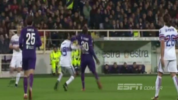 Assista aos gols da vitória da Fiorentina sobre a Sampdoria por 3 a 2!
