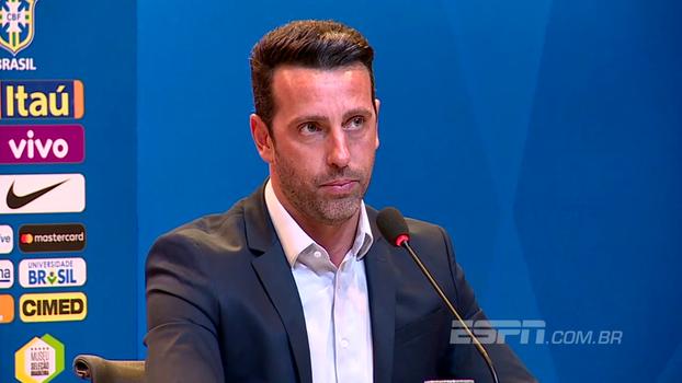 Edu diz que conversou com volante brasileiro que pode escolher defender Itália: 'Deixei ele à vontade'