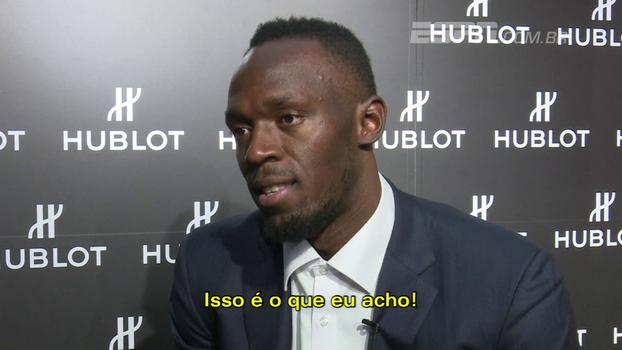 Bolt diz que vê seu recorde durando mais 15 a 20 anos e brinca: 'Posso mostrar para minhas crianças'