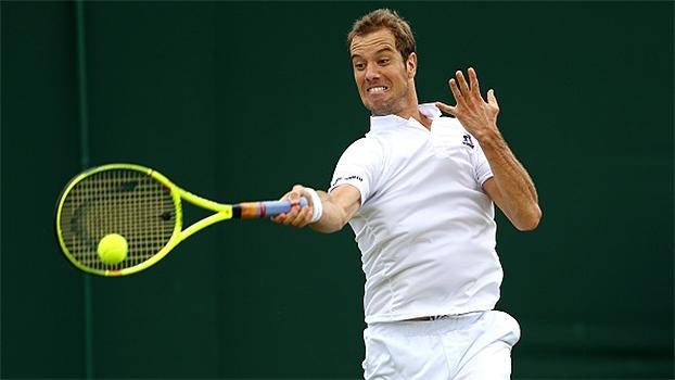 Gasquet vence tenista da casa e avança à 2ª rodada de Wimbledon