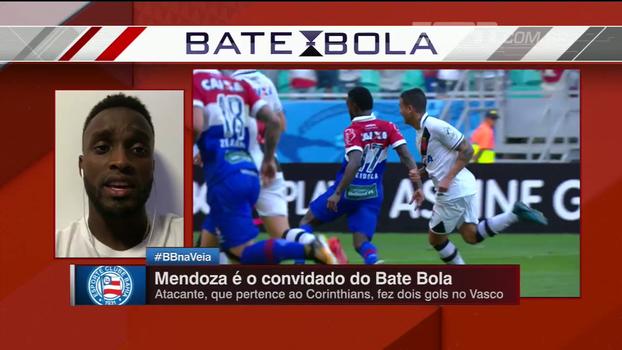 Em bom momento, Mendoza fala sobre sequência do Bahia e mira: 'Acho que vamos conseguir nossos objetivos'